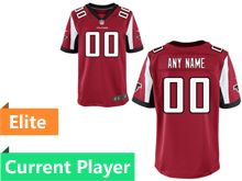 Mens Atlanta Falcons Red Elite Current Player Jersey