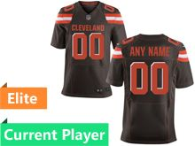 Mens Cleveland Browns Brown Elite Current Player Jersey