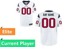 Mens Houston Texans White Elite Current Player Jersey