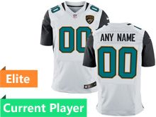 Mens Jacksonville Jaguars White Elite Current Player Jersey