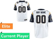 Mens Los Angeles Rams White Elite Current Player Jersey