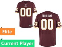 Mens Washington Redskins Red Elite Current Player Jersey