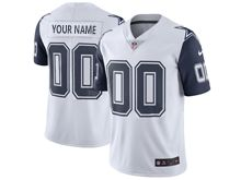 Mens Women Youth   Dallas Cowboys (custom Made) White Color Rush Limited Jersey