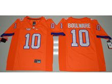 Mens Ncaa Nfl Clemson Tigers #10 Ben Boulware Orange Limited Jersey