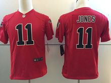 Youth   Nfl Atlanta Falcons #11 Julio Jones Red Color Rush Limited Jersey