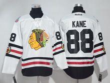 Mens Reebok Nhl Chicago Blackhawks #88 Patrick Kane White 2017 Winter Classic Jersey