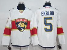 Mens Reebok Nhl Florida Panthers #5 Aaron Ekblad White 2016 Jersey