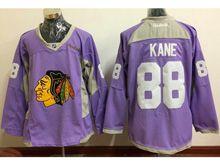 Mens Reebok Nhl Chicago Blackhawks #88 Patrick Kane Purple Jersey