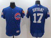 Mens Mlb Chicago Cubs #17 Kris Bryant Blue 2017 Spring Training Flex Base Jersey