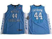 Mens Ncaa Nba North Carolina #44 Justin Jackson 2017 Tar Heels College Basketball Blue Jersey