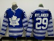 Mens Reebok Nhl Nhl Toronto Maple Leafs #29 William Nylander Blue Winter Heritage Classic Ice Hockey Jersey