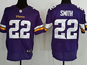 Mens Nfl Minnesota Vikings #22 Harrison Smith Purple Elite Jersey