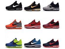 Mens Nike Air Max 2017 Running Shoes Many Color