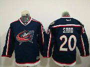 Youth Reebok Nhl Columbus Blue Jackets #20 Brandon Saad Blue Home Premier Jersey