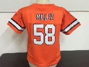 Kids Nfl Denver Broncos #58 Von Miller Orange Game Jersey