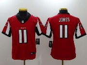 Youth Nfl Atlanta Falcons #11 Julio Jones Red Vapor Untouchable Limited Jersey
