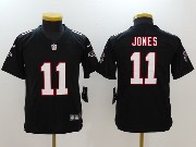 Youth Nfl Atlanta Falcons #11 Julio Jones Black Vapor Untouchable Limited Jersey