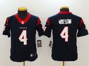 Youth Nfl Houston Texans #4 Deshaun Watson Blue Vapor Untouchable Limited Jersey