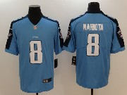 Mens Women Tennessee Titans #8 Marcus Mariota Light Blue Vapor Untouchable Limited Jersey