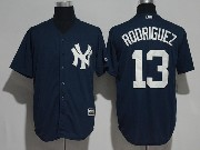 Mens Majestic New York Yankees #13 Alex Rodriguez White Cool Base Jersey