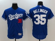 Mens Majestic Mlb Los Angeles Dodgers #35 Cody Bellinger Blue Flex Base Jersey