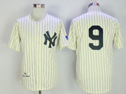 Mens Mlb New York Yankees #9 Roger Maris Cearm Throwbacks Jersey