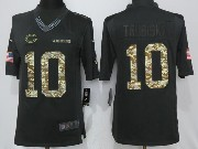 Mens Nfl Chicago Bears #10 Mitchell Trubisky Black Anthracite Salute To Service Limited Jersey