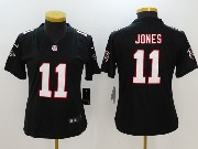 Women Nfl Atlanta Falcons #11 Julio Jones Black Vapor Untouchable Limited Jersey