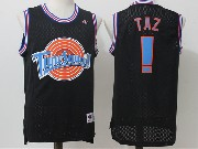 Mens Nba Space Jam Tune Squad ! Taz Black Jersey