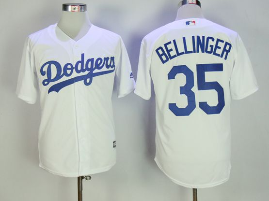 Mens Mlb Los Angeles Dodgers #35 Cody Bellinger White Cool Base Jersey