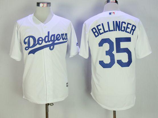 Mens Mlb Los Angeles Dodgers #35 Cody Bellinger White Cool Base Jersey