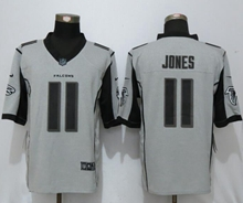 Mens Nfl New Nike Atlanta Falcons #11 Julio Jones Gridiron Gray Ii Limited Jersey