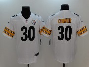 Mens Nfl Pittsburgh Steelers #30 James Conner White Vapor Untouchable Limited Jersey