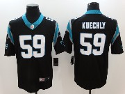 Mens Nfl Carolina Panthers #59 Luke Kuechly Black Vapor Untouchable Limited Jersey