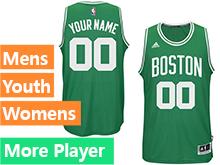 Mens Women Youth Nba Boston Celtics Boston Green Adidas Current Player Swingman Jersey