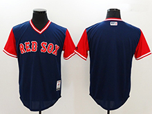 Mens Mlb Boston Red Sox ( Blank) Majestic Navy 2017 Players Weekend Authentic Jersey