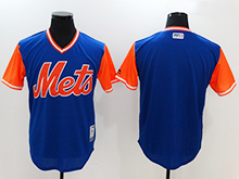 Mens Mlb New York Mets ( Blank) Majestic Royal 2017 Players Weekend Authentic Jersey