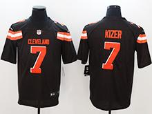 Mens Nfl Cleveland Browns #7 Deshone Kizer Brown Vapor Untouchable Limited Jersey