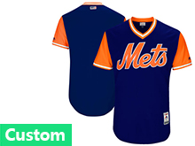 Mens Mlb New York Mets Custom Made Royal 2017 Players Weekend Jersey