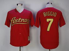 Mens Majestic Pittsburgh Pirates #7 Craig Biggio Red Turn Back Jersey