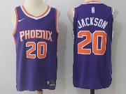 Mens Nba Phoenix Suns #20 Josh Jackson Purple Road Nike Jersey