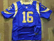 Mens Nfl St. Louis Rams #16 Jared Goff Royal Light Blue Elite Jersey