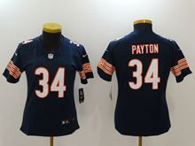Women Nfl Chicago Bears #34 Walter Payton Blue Vapor Untouchable Limited Jersey