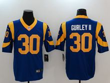Mens Women Youth Los Angeles Rams #30 Todd Gurley Ii Blue Vapor Untouchable Limited Jersey
