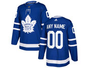 Mens Women Youth Nhl Toronto Maple Leafs Custom Made Royal Blue Home Adidas Jersey