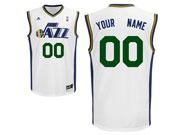Mens Nba Utah Jazz Custom Made White Association Edition Adidas Jersey