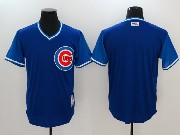 Mens Mlb Chicago Cubs Custom Made Blue 2017 Players Weekend Authentic Jersey
