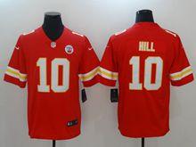 Mens Nfl Kansas City Chiefs #10 Tyreek Hill Red Vapor Untouchable Limited Jersey