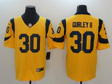 Mens Women Los Angeles Rams #30 Todd Gurley Ii Gold Nike Vapor Untouchable Color Rush Limited Player Jersey