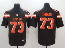 Mens Nfl Cleveland Browns #27 Jabrill Peppers Brown Vapor Untouchable Limited Jersey
